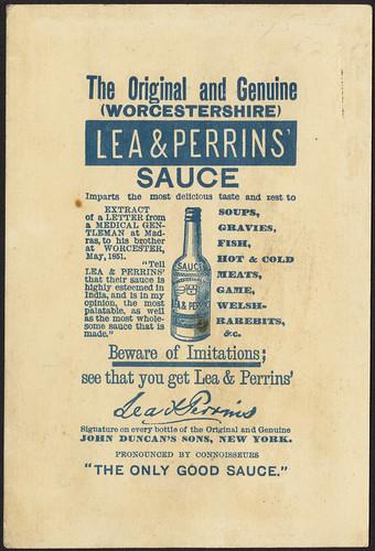 Lea & Perrins' Sauce [back]