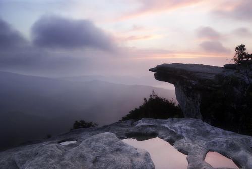 sunrise photography virginia hiking trail hiker appalachiantrail catawba swva at mcafeeknob brettmaurer blacksburghiking roanokehiking