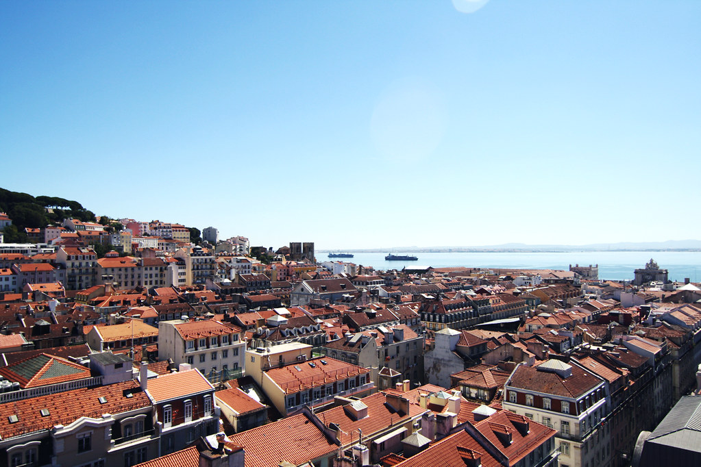 lisboa view from santa justa