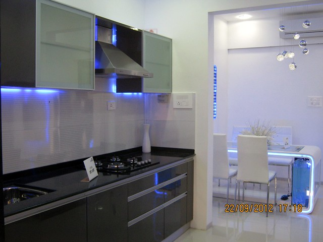 Modular Kitchen With Hob Chimney Standard Specification