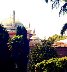Hagia Sophia from Topkapi Palace