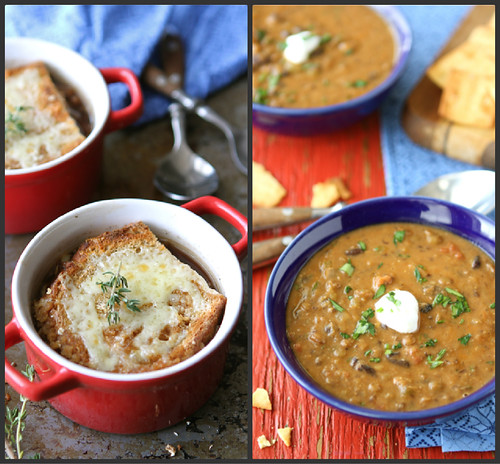 Healthy Vegetarian Soup Recipes | cookincanuck.com #MeatlessMonday