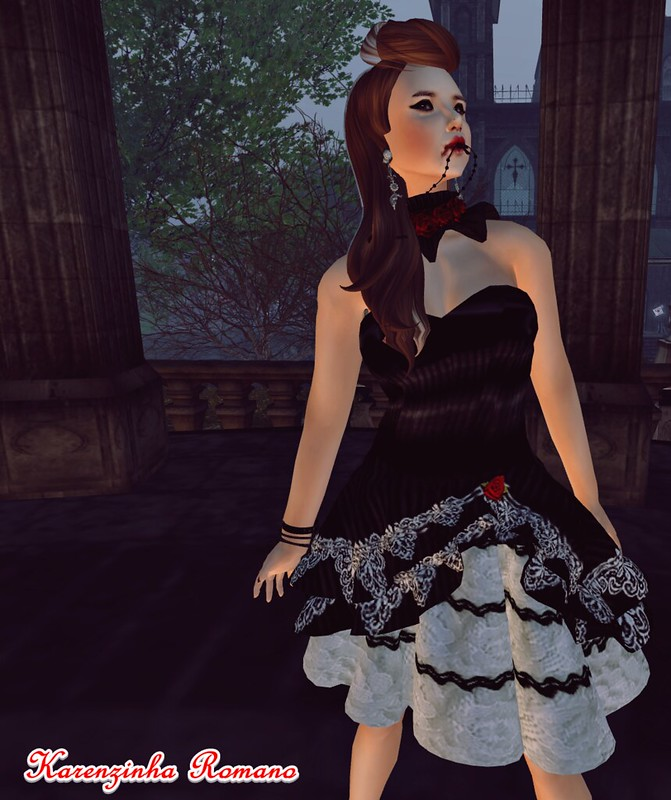 Bubblez Design new release - Lolita Vampiress outfitnew