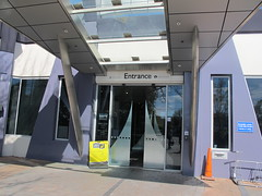 Fendalton Library entrance