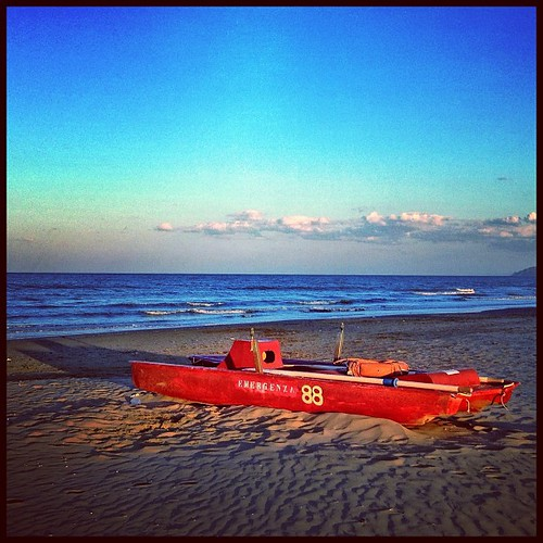 Sunset at Rimini Beach