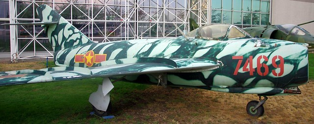 Mikoyan-Gurevich MiG-17 jet fighter  - Museum of Flight, Seattle