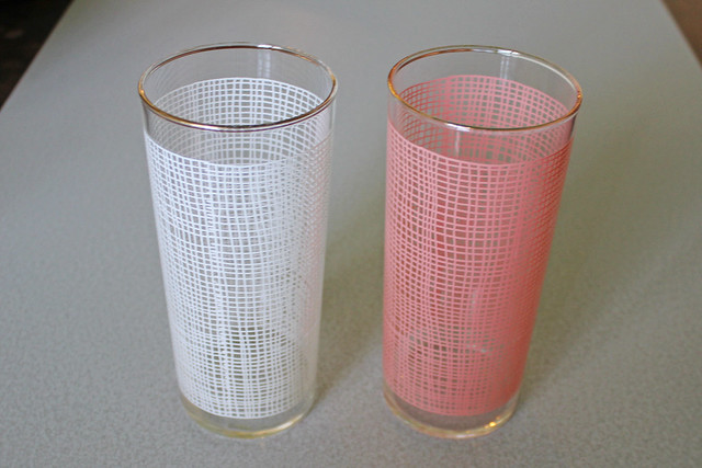 Screen printed tumblers