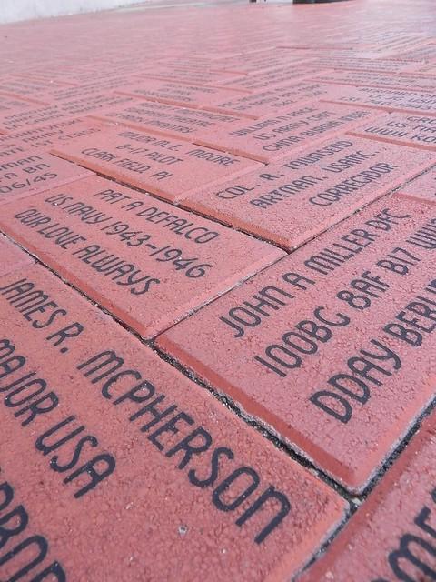 WWII Museum Bricks
