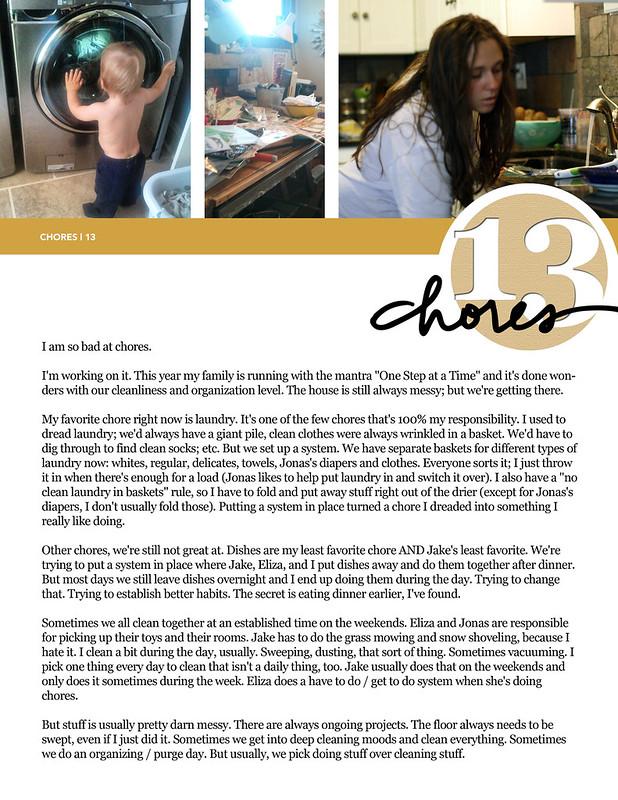 31 Things | Chores (13)