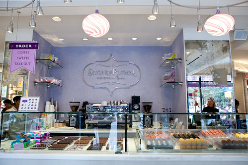 Sugar and Plumm's retail counter