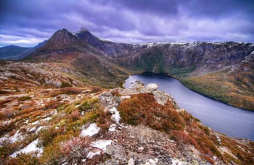 Cradle Mt from Hanson's Peak, Tasmania Australia
