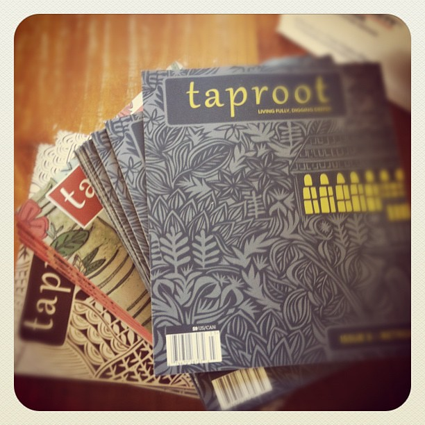 It's here!! In the shop later today... #taproot #spiralgarden