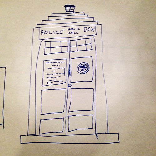 Found this amongst my papers this evening... #lovenote #doctorwho