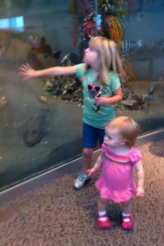 Catie & Lucy at the NC Museum of Science