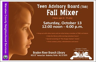Teen Mixer and Movie @ Braden River Branch Library