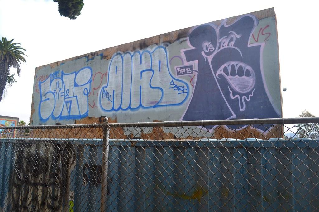 SORI, AIGO, PARMES, Graffiti, Oakland, Street art,