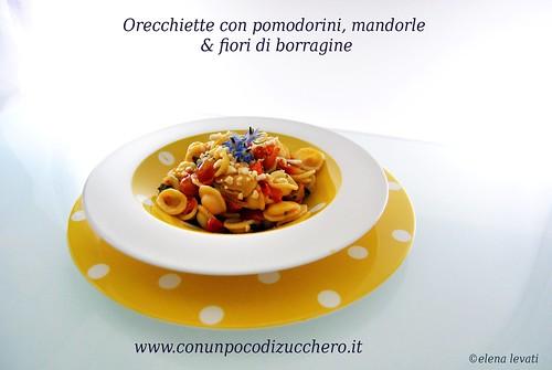 Orecchiette con pomodorini&mandorle