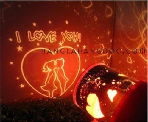 đèn chiếu trăng sao xoay tình yêu, đèn chiếu cá đại dương, đèn chiếu thiên hà vũ