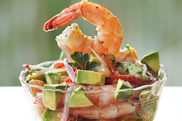 Mexican Shrimp Cocktail appetizer