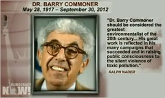 Dr. Barry Commoner dies at 95