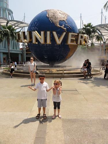 Entrance to Universal Studios Singapore