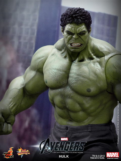 Hot Toys - The Avengers - Hulk Limited Edition Collectible Figurine_PR7