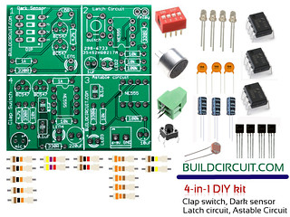 Video- Dark sensor- 4 in 1 DIY kit