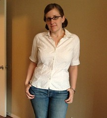 White Blouse Alteration - After