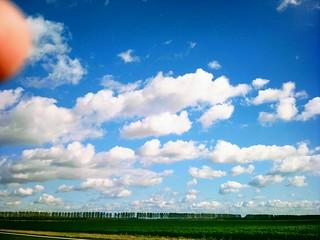 Zeeuws-Vlaamse wolkenlucht