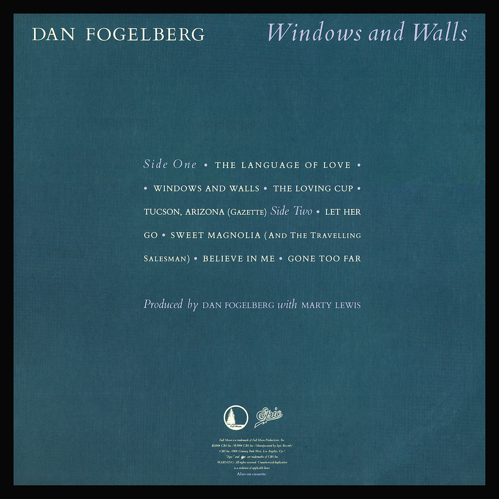 Windows And Walls Lp Cover Art