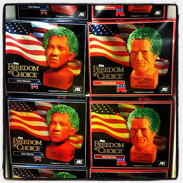 Which #chia do u prefer? #obama or...