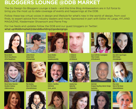 DDB Bloggers Lounge