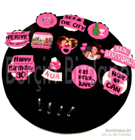 30 yas cupcake