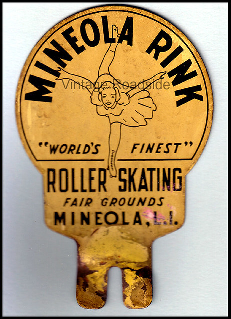 Mineola (TX) United States  city images : Mineola Roller Rink license plate topper by Vintage Roadside