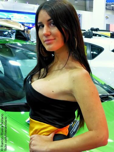 Francisca Undurraga - Salón del Automóvil 2012, Opel