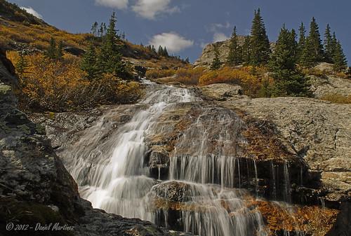 autumn fall water nikon colorado falls noon d60 bluelakes