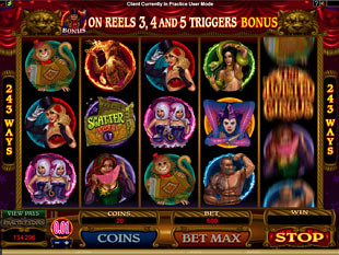 The Twisted Circus slot game online review