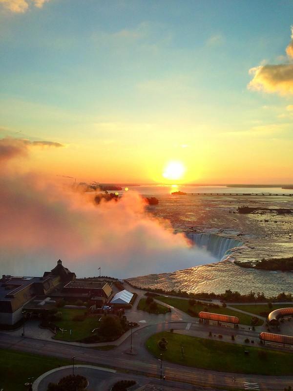 Niagara Falls Sunrise HDR