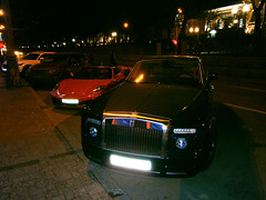 FERRARI F430 Spider & ROLL ROYCE Phantom