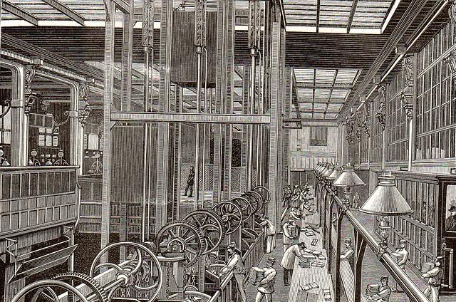 1888 la nature le nouvel h tel des postes de paris flickr photo sharing - Le nouvel hotel paris ...