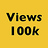 the Views: 100000 group icon