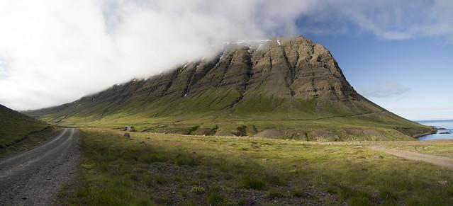On the way to Dalatangi | East Iceland