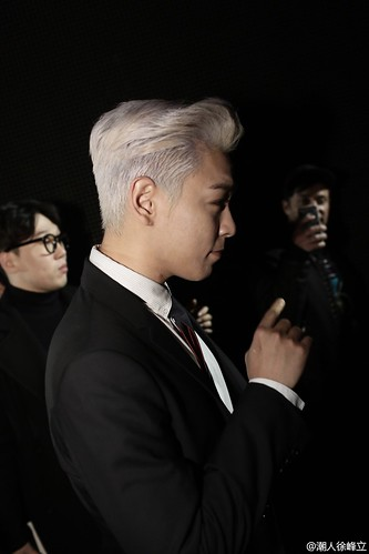 TOP - Dior Homme Fashion Show - 23jan2016 - 潮人徐峰立 - 02
