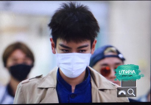 Big Bang - Gimpo Airport - 07jun2015 - TOP - Utopia - 01
