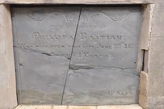 Philippa Holman (nee Bastian) gravestone
