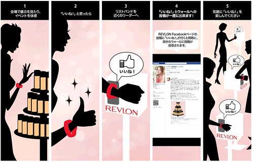 REVLON 期間限定カフェ『REVLON Beauty & Love Museum』