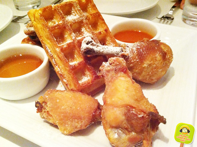 sugar and plumm - chicken and waffles