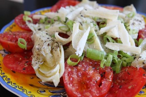 Tomato, Artichoke, and Parmigiano-Reggiano Salad