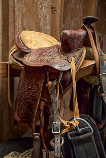 Carved Saddle