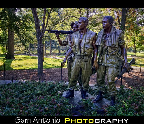 "Do you know about ""The Three Servicemen"" in Washington, D.C.? by Sam Antonio Photography"